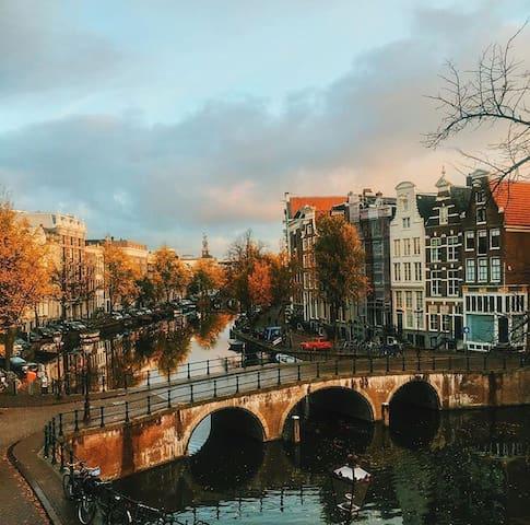 Apartment canal house Keizersgracht - Amsterdam - Leilighet