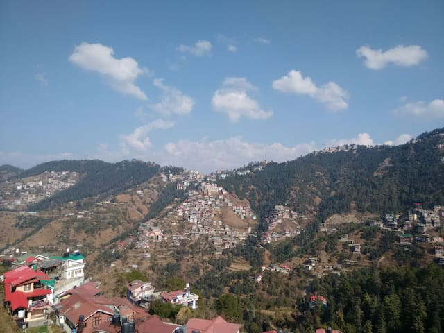 2 Bed Room with a View of Shimla
