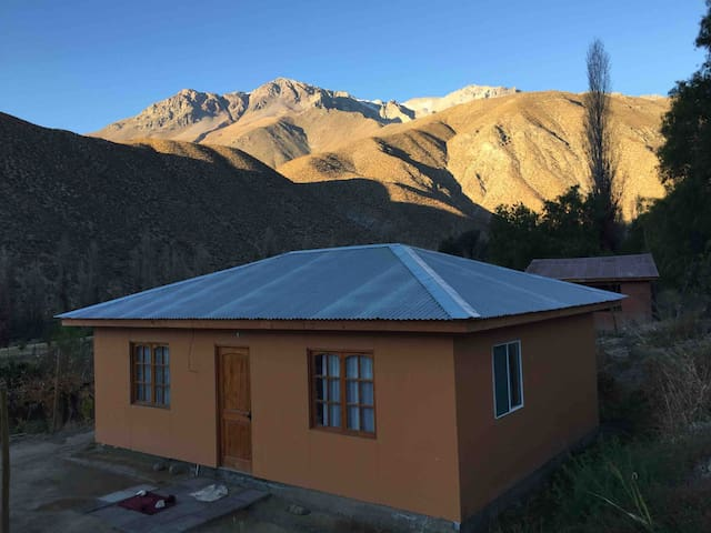 Panorama campestre alto Limari, zona de relajación