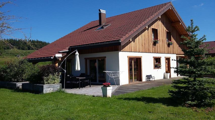 Maison idéale pour des vacances en famille. - Remoray-Boujeons - Talo