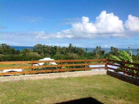 Villa Blessing  Vue mer  Wifi  300 m plage