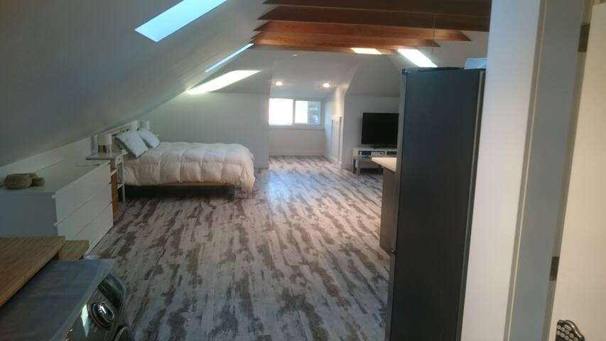 Bright, Airy Attic Suite in James Bay!