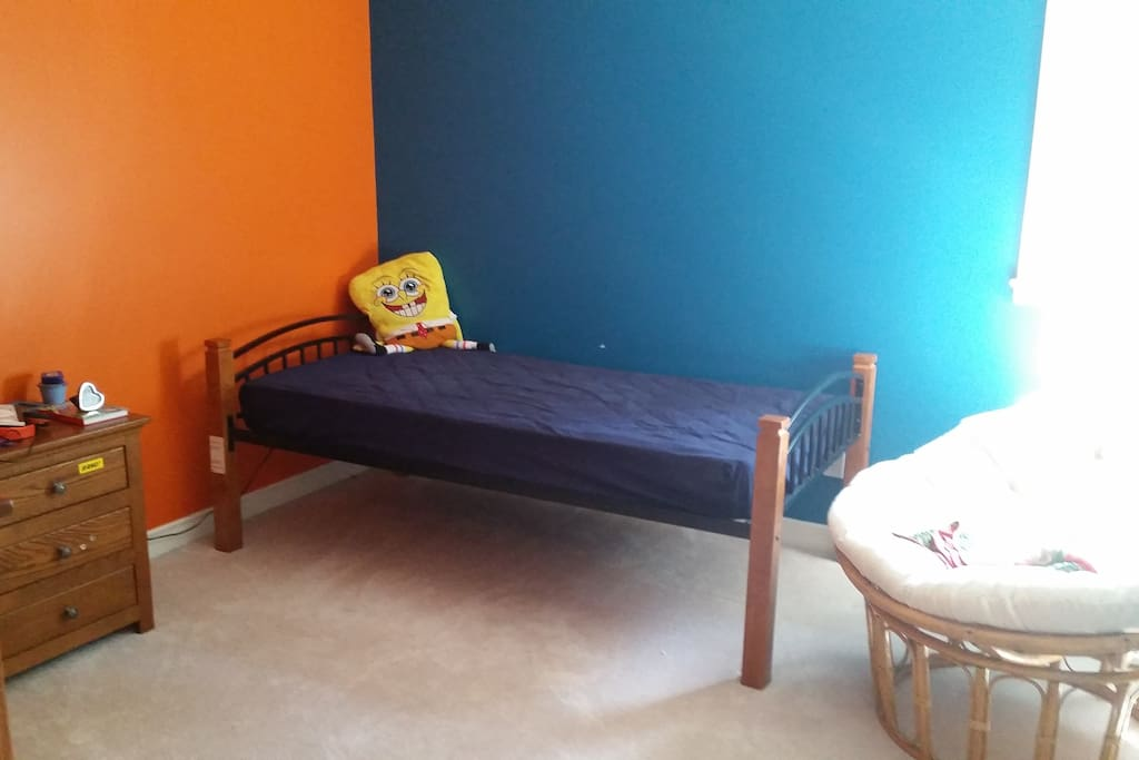 3rd bedroom also has a double size bed in addition to this single and sleeps 3 more people