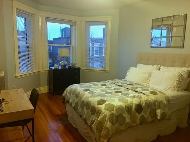 Bright & clean one bedroom in Fenway - Boston - Flat