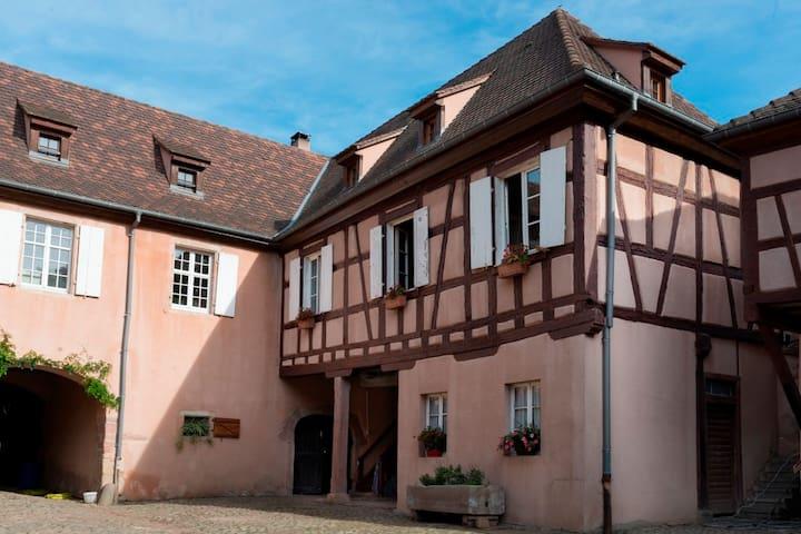 Chambre à la Ferme St Gilles (10' de Colmar)