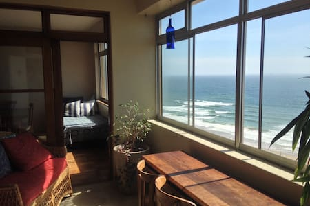 Room in Relaxed Beachfront Penthouse - Durban - Wohnung