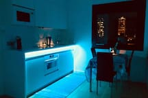 FEBRUARY 2019-NEW TOP LINE AND MULTICOLOR LEDs ILLUMINATED KITCHEN