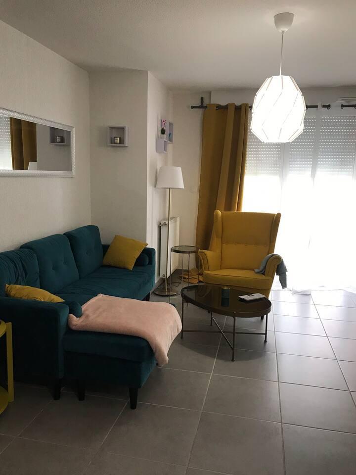 Chambre dans Appartement chaleureux