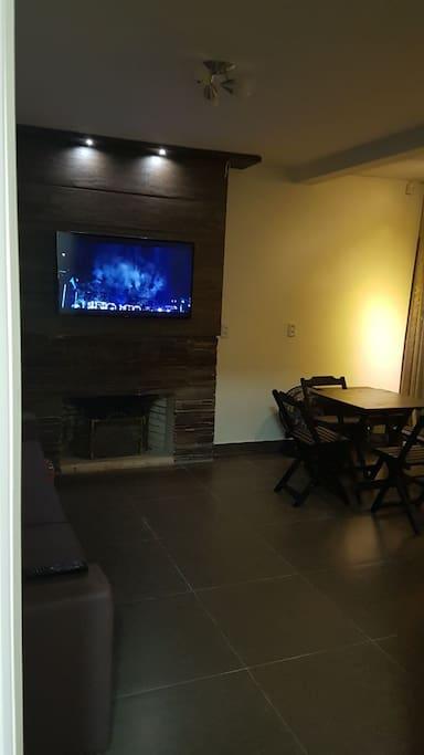 sala de estar, piso superior