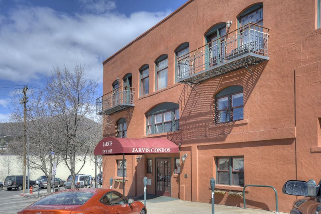 Vacation Rental Condo in Durango Colorado on Main Avenue in Historic District