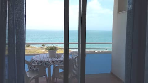 Penthouse ved havet i Alcanar Playa.