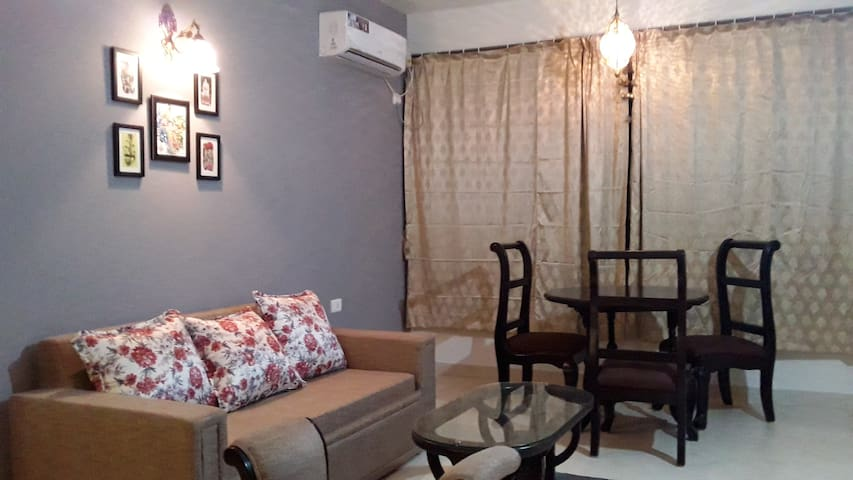 Luxuriously Furnished 1BHK Apartment @ Colva Beach