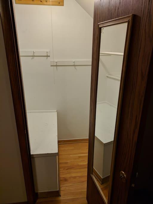 Closet Exterior View