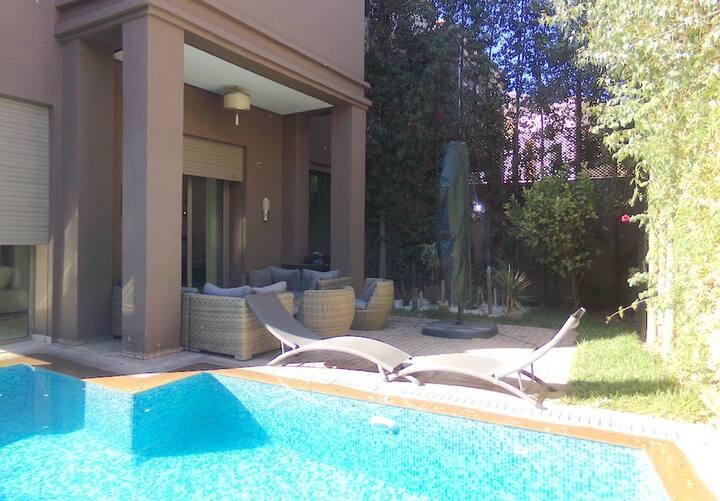Magnifique villa a louer au centre Marrakech