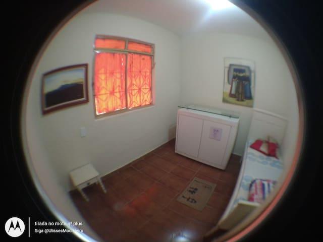 A Casa do Mochileiro . Quarto de Solteiro
