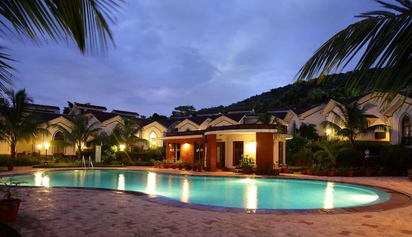 A Luxury Stay Near Baga Beach with free WiFi