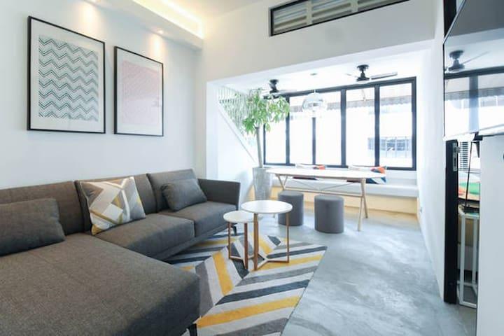 S - Unique 2 brm art deco apartment - Singapura - Apartamento