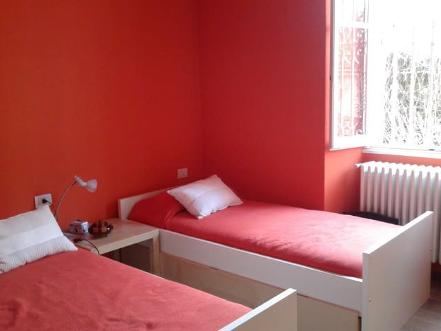 Camera doppia accogliente e silenziosa - Erba - Apartament