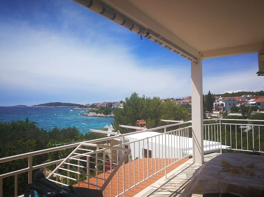 amazing sea view from your private balcony