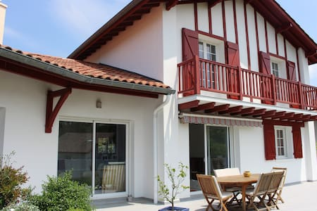 Maison pour 6 à 8 personnes maximum au Pays-Basque - Villefranque - Haus
