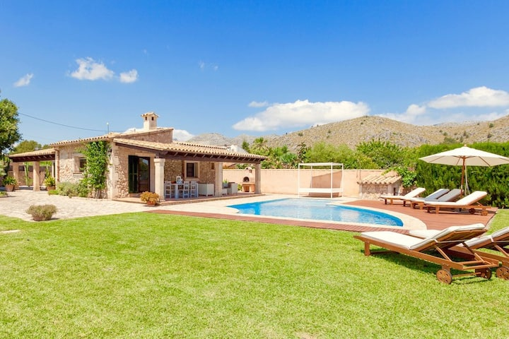 Catalunya Casas: Picturesque Casa Bene in Pollensa, only 6 km to the beach!