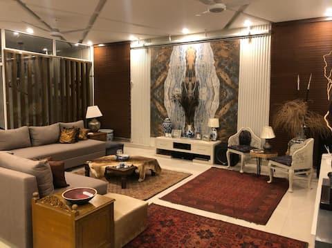 Entirefloor2BD 1kanal 🏡,lounge, Exclusive/big/hot💧