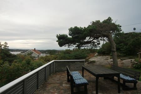 Summer cabin, beautiful fjord view - Fredrikstad - Cabana
