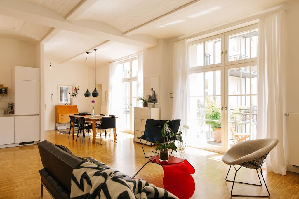 The good life atelier lofts louer berlin berlin for Atelier loft a louer