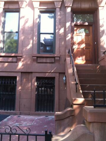 Full floor in Park Slope Brownstone duplex