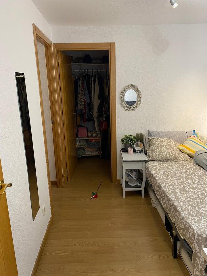 Habitación individual Malasaña