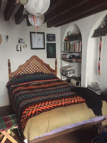 linda habitación rustica amueblada - 墨西哥城(Ciudad de México) - 獨棟