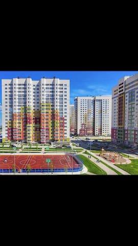 Двухкомнатная Цветы - Nizhniy Novgorod - Appartement
