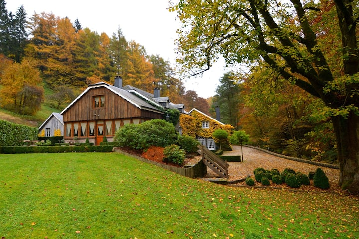 Plush Mill in Vresse-Sur-Semois with Pool & Sauna