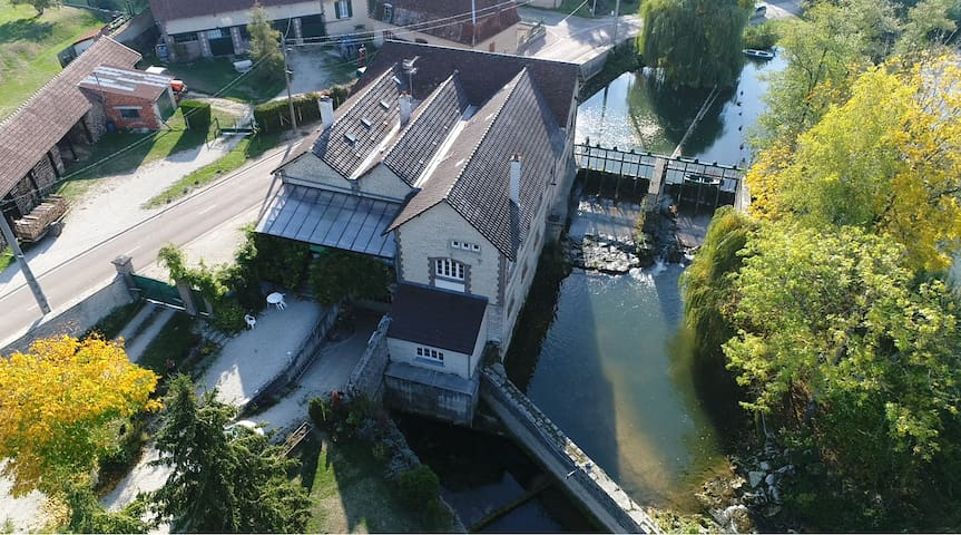 Gîte & Chambres d'Hôtes au Moulin à Chappes sur la Seine.