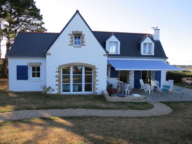 Maison vue mer - 8 couchages - Saint-Philibert - Huis