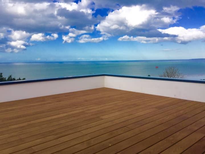 Villa design vue mer plage à 300 m