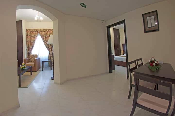 Spacious & fully Furnished One Bed Room Apartment