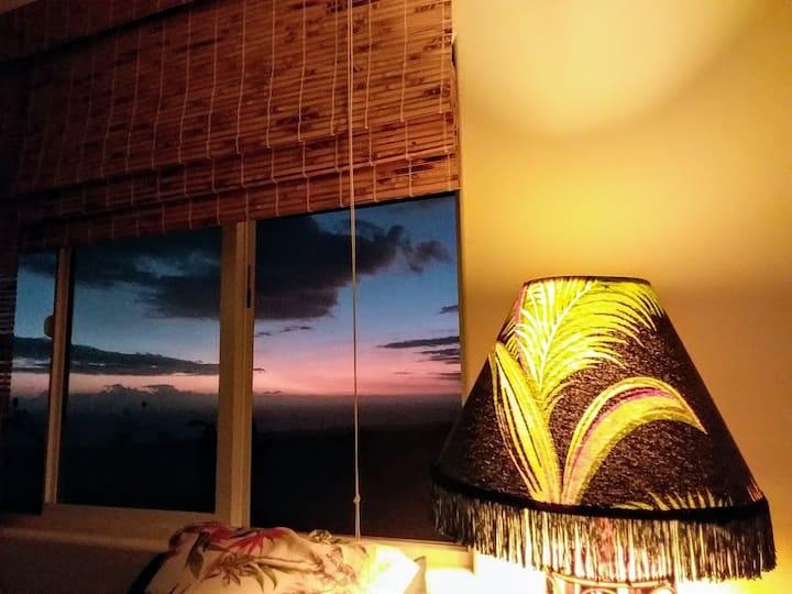 Ocean Views, Spacious Suite Private: low clean fee