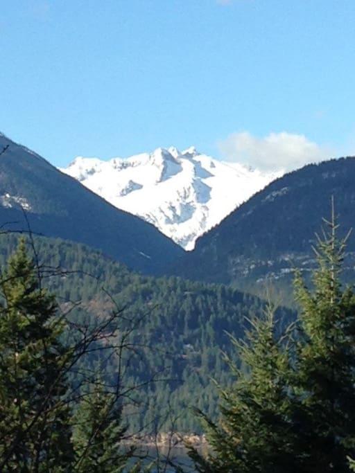 Tara Shanti Glacier view from deck