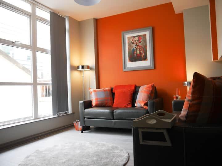 Stylish Belfast City Centre Penthouse Apartment