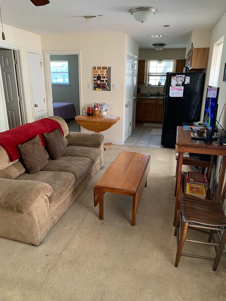 Cozy two bedroom apartment....