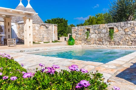Trullo Tulou Suite with Private Pool