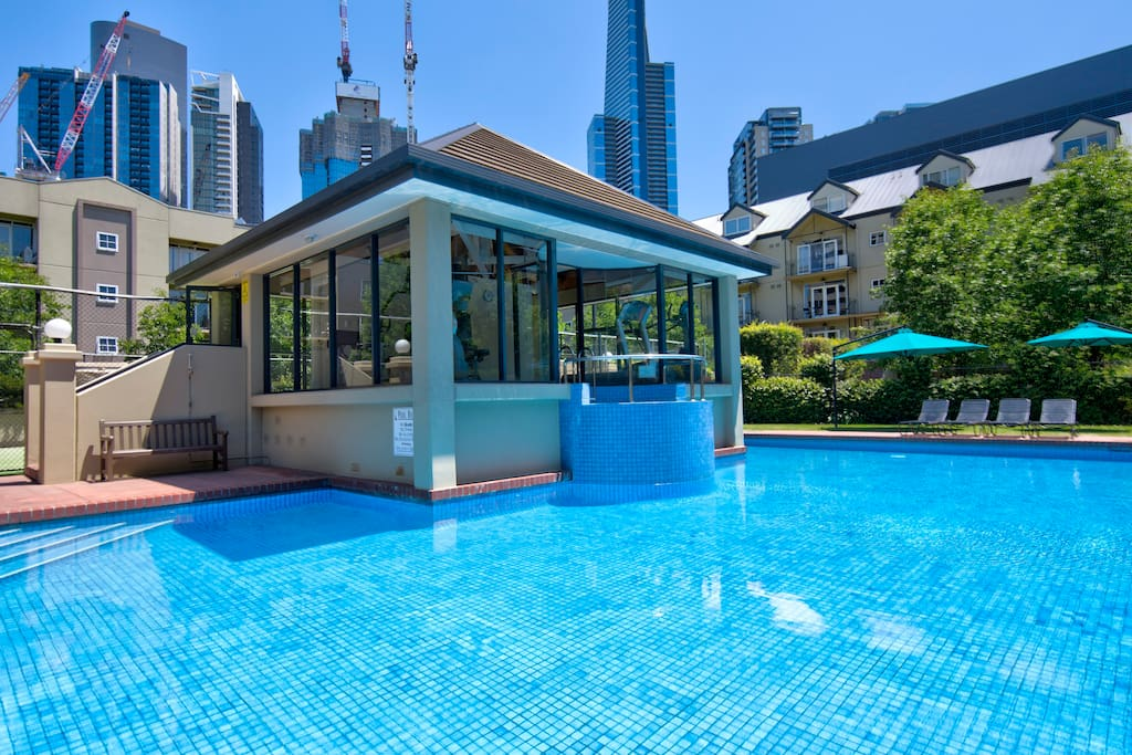 The pool is solar heated and is warm from Mid September to mid May each year