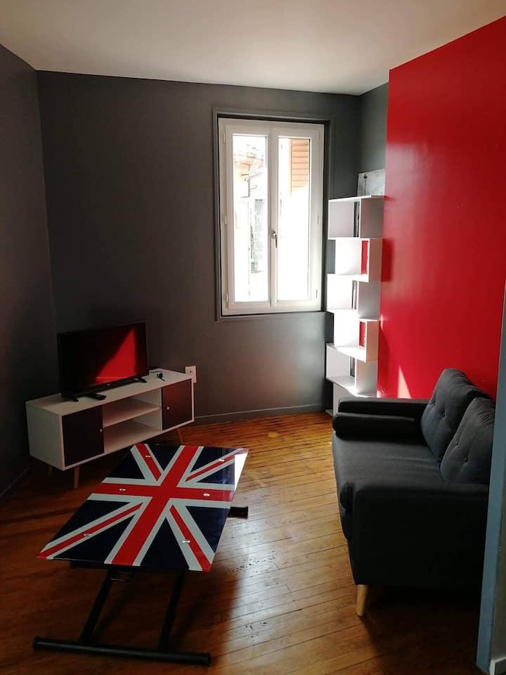 Cosy-Calme - rénové * Le LONDON * wifi