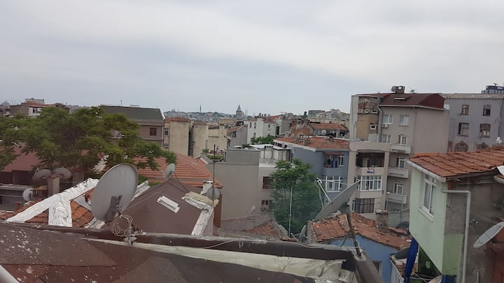 Taksim, Cihangir,best location-view, 4th floor #18