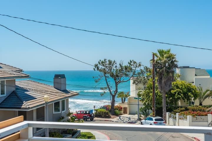SurfView Loft ⛱ ♥♥  for Couples 1 Bedroom