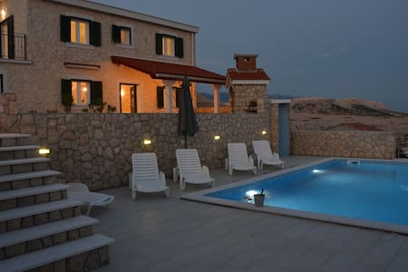 Luxory Villa Dražica with private pool - ノヴァリャ(Novalja)