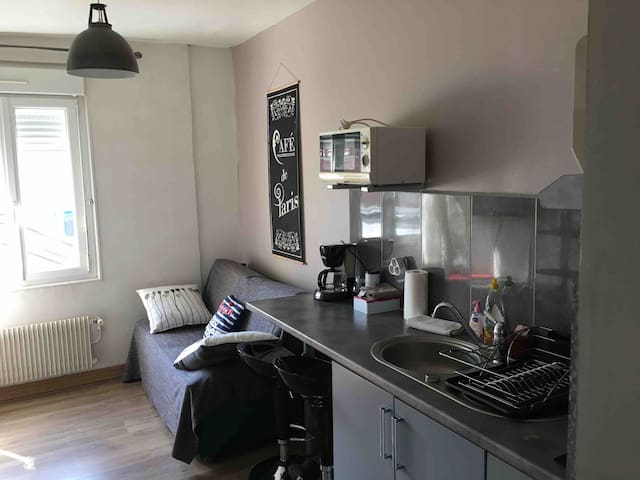 Bel appartement 30m2 5 minutes centre ville WIFI