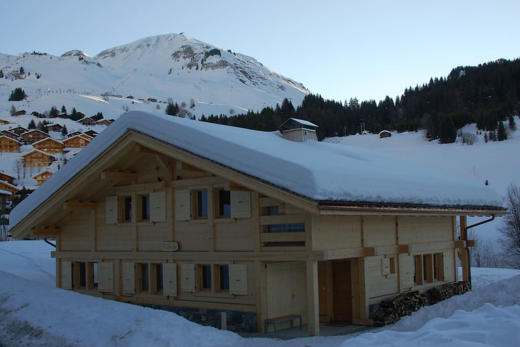 chalet etoile modern 5 chalet in le chinaillon chalets for rent in le grand bornand