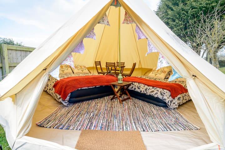 4 Person Glamping Tent @ the British F1 Grand Prix